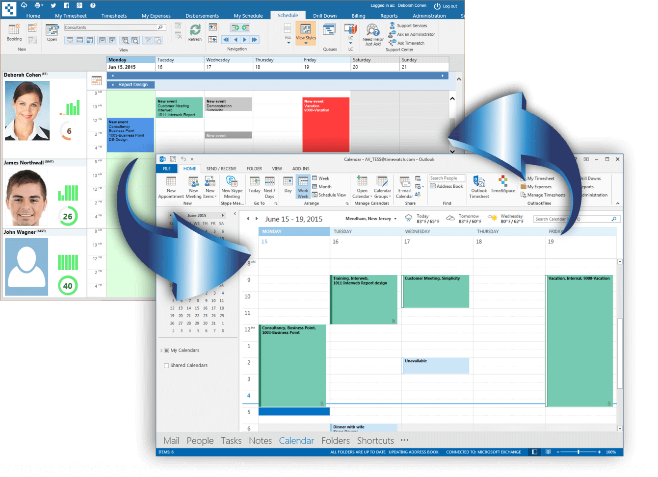 Outlook and Google sync