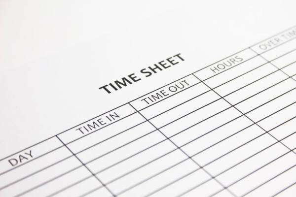 Timesheet entry, excel timesheet, time tracking, time recording all made easy