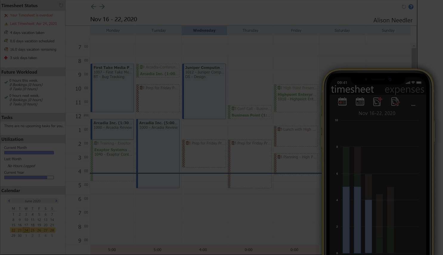 Timesheet upgrade for Sage Coretime Customers