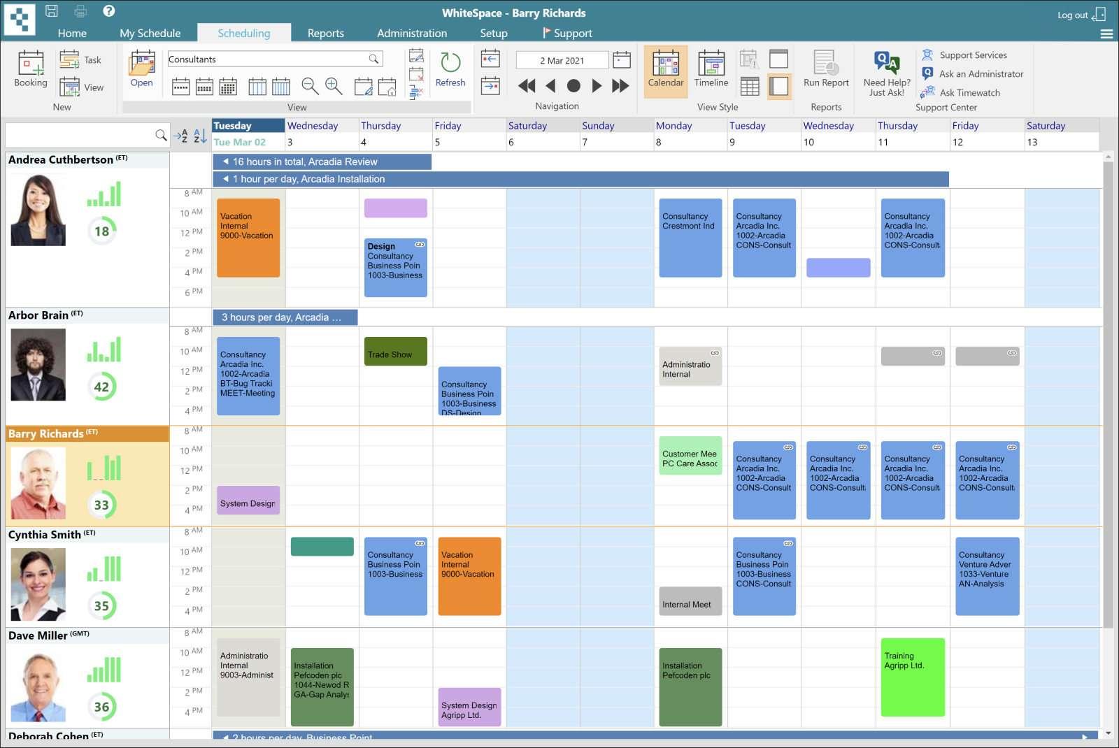 Outlook Resource Scheduling